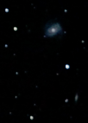 Enlarged view of M100