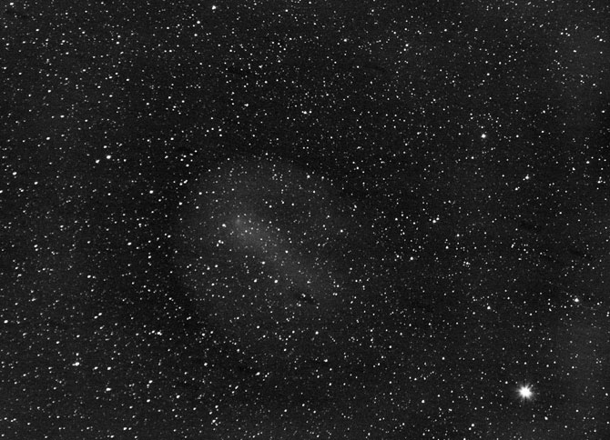 Photograph of comet 17P Holmes