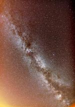 Thumbnail image of fisheye view of Milky Way