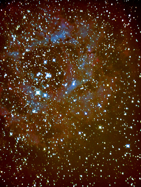 Photo of the Rosette nebula