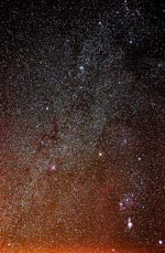 Thumbnail image of Milky Way near Orion